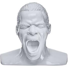 "Oehlbach 35402 - Scream - headphone stand in the form of the ""Oehlbach head"" (white)"
