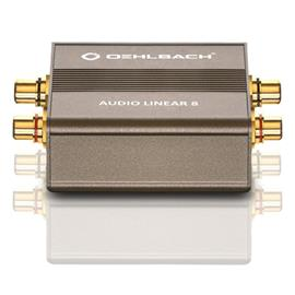Oehlbach 9052 - Audio Linear 8 - galvanic separation filter (metallic brown)