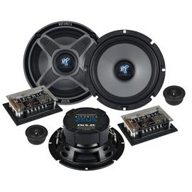 """HiFonics ZSI6.2C - 2-way compo loudspeaker system (ZEUS series / 2 x 6,5"""" woofer / 2 x 25 mm tweeter / incl. crossover)"""
