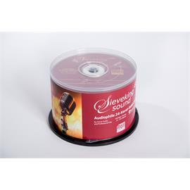 Sieveking Sound Blank CDs 24k gold (50 pieces / in spindle / without case)