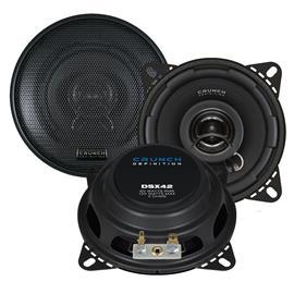 CRUNCH DSX42 - 2-Way coaxial loudspeakers (60/120 Watts / 10 cm / 1 pair)