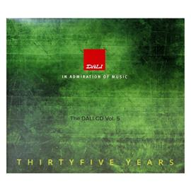 DALI The DALI CD - Thirtyfive Years - Demo Music CD (Vol. 5) - various artists (digipack / limited / 17 tracks / new & factory sealed)