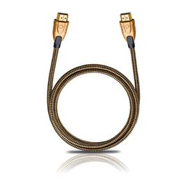 Oehlbach 42524 - Screen Magic Plus - High-Speed-HDMI®-Cable with Ethernet (1.20 m / black/bronze)
