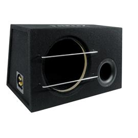 HELIX QE12 - subwoofer enclosure (4-pole connection terminal / rigid MDF / black)