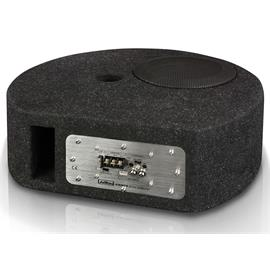 Axton ATB20STP - active subwoofer for the spare tire well (20 cm / 8 inch / 90 Watts RMS / black / incl. particularly practical connection terminal)