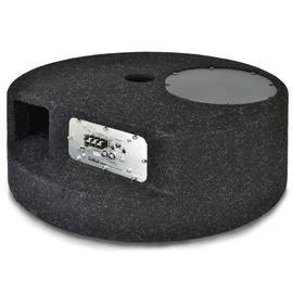 Axton AXB20STP - active subwoofer for the spare tire well (20 cm / 8 inch / 90 Watts RMS / black / incl. particularly practical connection terminal)