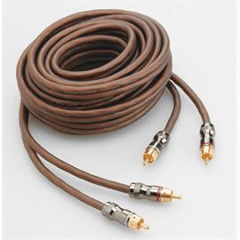Focal Elite ER3 - RCA audio cable (high performance stereo cable / RCA-RCA / 3.0 m / coppery or milky-transparent / 1 pair)
