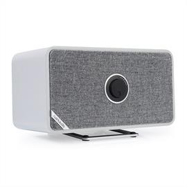 ruarkaudio MRx - verbundener kabelloser Bluetooth-Lautsprecher (Bluetooth / 20 Watt / linearer Klasse A-B Verstärker / Apt-x-Bluetooth / matt grau)