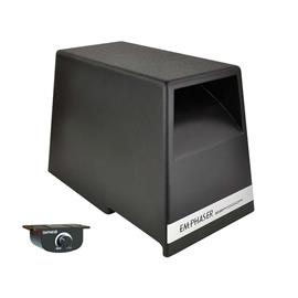 Emphaser EBP1000A - active bandpass subwoofer (7x10 inch respectively 18x25 cm long-throw bass driver / 150 W RMS / space-saving housing design)