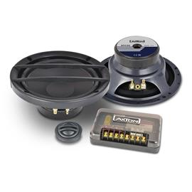 Axton ATC26 - 2-way speaker component system (16.5 cm / 6.5 inch / 120 W nominal power handling / incl. compact crossover)