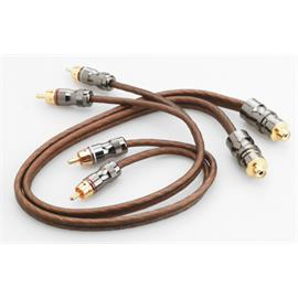 Focal Elite EY05 - Y-RCA audio cable (high performance cable / 1xRCA to 2xRCA / 0.5 m / coppery or milky-transparent / 1 piece)