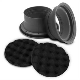 ZEALUM ZN-SPB165 - sound improving moisture guard (2 x moisture protection for speakers / incl. 2 x pads)