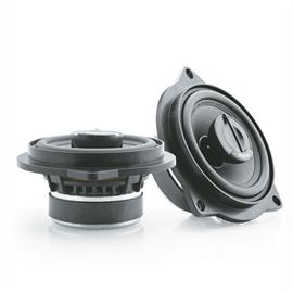 Focal IFBMW-C - 2-way coaxial loudspeakers for BMW (compatible with 1 Series, 3 Series, X1 / 10 cm / 4 inch / 80 Watts max. / 40 Watts RMS / plug & play)