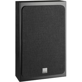 DALI Oberon On-Wall - 2-Way bass reflex wall loudspeakers (25-100 Watts / black ash / for wall mounting / 1 pair)