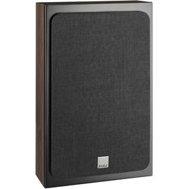 DALI Oberon On-Wall - 2-Way bass reflex wall loudspeakers (25-100 Watts / dark walnut / for wall mounting / 1 pair)