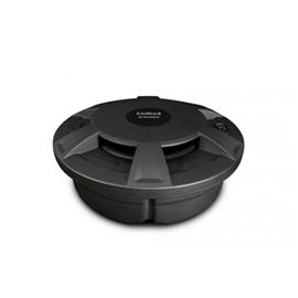 Axton ATB25RS - compact active subwoofer for the spare wheel (25 cm / 10 inch / 380 Watts max. / 115 Watts RMS / plug & play)