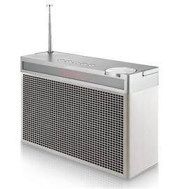 Geneva Touring/L - portable Bluetooth loudspeaker (Bluetooth / FM / DAB+ / white)