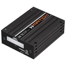 MATCH M 5DSP MK2 - 5-channel micro amplifier with integrated 7-channel DSP (class HD / plug & play / incl. USB data cable / incl. connection cable PP-IOC / incl. subwoofer connection cable PP-SOC)