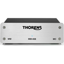 THORENS MM-008 - phono preamplifier (for MM and MC cartridges / solid metal housing / silver)