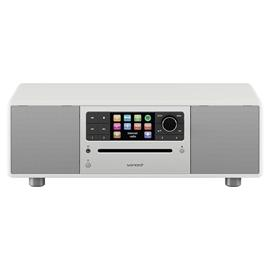 Sonoro Prestige 2.1 - compact system (2-way audio system with subwoofer / slot-in CD player / DAB+ / BT / USB-Port / Spotify / DLNA / UPnP / white)