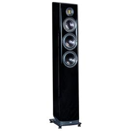 Elac Vela FS 409 - 3,5-way floorstanding loudspeaker (200-280 Watts / high-gloss black / 1 piece)