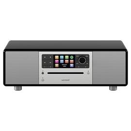 Sonoro Prestige 2.1 - compact system (2-way audio system with subwoofer / slot-in CD player / DAB+ / BT / USB-Port / Spotify / DLNA / UPnP / black)