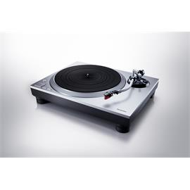 Technics Premium Class SL-1500C - record player (silver / incl. Ortofon - 2M Red - MM pickup / incl. phono preamplifier / + dust cover)