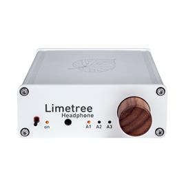 Lindemann Audio Limetree Headphone - compact headphone amplifier (can also be used as pre-amplifier / 3 x switchable inputs / silver)