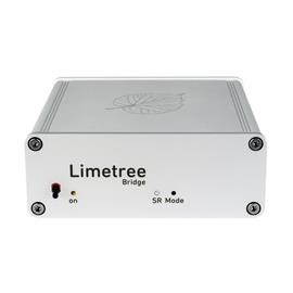 Lindemann Audio Limetree Bridge - kompakte Netzwerk-Bridge (Roon Ready / LAN / WLAN / Bluetooth / USB / TIDAL / Spotify / Qobuz / Deezer / HighResAudio / silber)