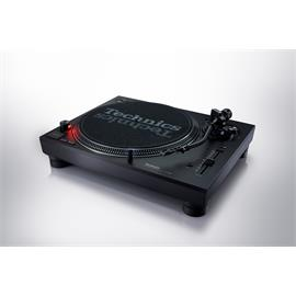Technics SL-1210MK7 - DJ record player (black / direct drive turntable with DJ-optimized features / + phono cable / + dust cover)
