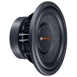 "MATCH PP 10W-Q - subwoofer (25 cm / 10"" / 300 Watts RMS / 600 Watts max / plug & play / black)"
