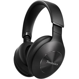 Technics EAH-F50B - premium Bluetooth headphones (40 mm driver / incl. various cables & connectors / incl. transport bag / black)
