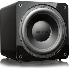 SVS SB-3000 - Active subwoofer (800 Watts RMS continuous power / 2500 Watts maximum peak / front firing 13 inch driver / high-gloss black)