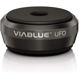 ViaBlue 50300 UFO ABSORBER BLACK - elegant vibration dampers in SET of 4