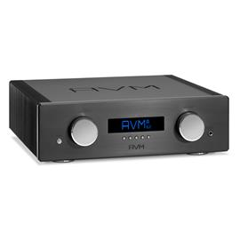 AVM OVATION A6.2 - MOS-FET high-current integrated amplifier (Class A/AB / over 225/400 Watts/channel / incl. RC 3 remote control / incl. flight case / black)