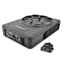 Axton ATB25P - ultra compact flat active subwoofer (25 cm / 10 inch / 180 W RMS / controls and terminals on the front)