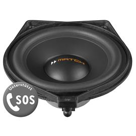 MATCH UP S4MB-CTR - loudspeaker upgrade for Mercedes