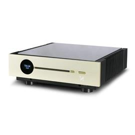 QUAD Artera ONE - All-In-One (Network/WiFi streamer / CD player / DAC / integrated amplifier with 2 x 75 Watts / Spotify Connect / vTuner / AirPlay / Bluetooth / UpNP / DSD / Quad Link App / aluminum gold)