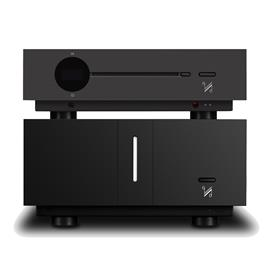 QUAD SET: Artera LINK - CD player + Artera STEREO - stereo power amplifier (both devices in aluminum black)