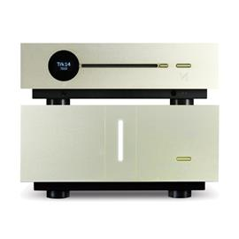 QUAD SET: Artera LINK - CD player + Artera STEREO - stereo power amplifier (both devices in aluminum gold)
