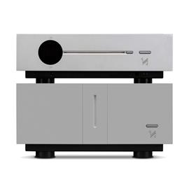 QUAD SET: Artera LINK - CD player + Artera STEREO - stereo power amplifier (both devices in aluminum silver)