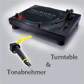 Technics + Ortofon PACKAGE OFFER: TECHNICS - SL-1210MK7 - record player (black) + ORTOFON - Concorde - CLUB - cartridge