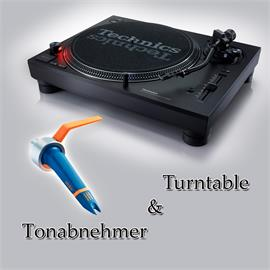 Technics + Ortofon PACKAGE OFFER: TECHNICS - SL-1210MK7 - record player (black) + ORTOFON - Concorde - DJ - cartridge