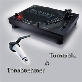 Technics + Ortofon PACKAGE OFFER: TECHNICS - SL-1210MK7 - record player (black) + ORTOFON - Concorde - SCRATCH - cartridge