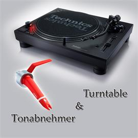 Technics + Ortofon PACKAGE OFFER: TECHNICS - SL-1210MK7 - record player (black) + ORTOFON - Concorde - DIGITAL - cartridge