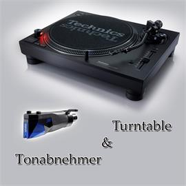 Technics + Ortofon PACKAGE OFFER: TECHNICS - SL-1210MK7 - record player (black) + ORTOFON - 2M Blue PnP - MM cartridge