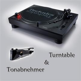 Technics + Ortofon PACKAGE OFFER: TECHNICS - SL-1210MK7 - record player (black) + ORTOFON - 2M Black PnP - MM cartridge