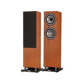 Tannoy Revolution XT 8 F - 2.5 way floorstanding loudspeakers (1 pair / 100 Watts RMS / 400 Watts max. / incl. integral plinth / real wood veneer = stained oak)