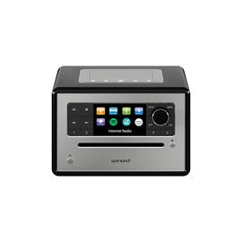 Sonoro Elite - internet radio with CD player (streaming / FM / DAB+ / WLAN / AUX / BT / Spotify / DLNA / UPnP / Amazon Music / Deezer / black)