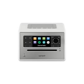 Sonoro Elite - internet radio with CD player (streaming / FM / DAB+ / WLAN / AUX / BT / Spotify / DLNA / UPnP / Amazon Music / Deezer / white)